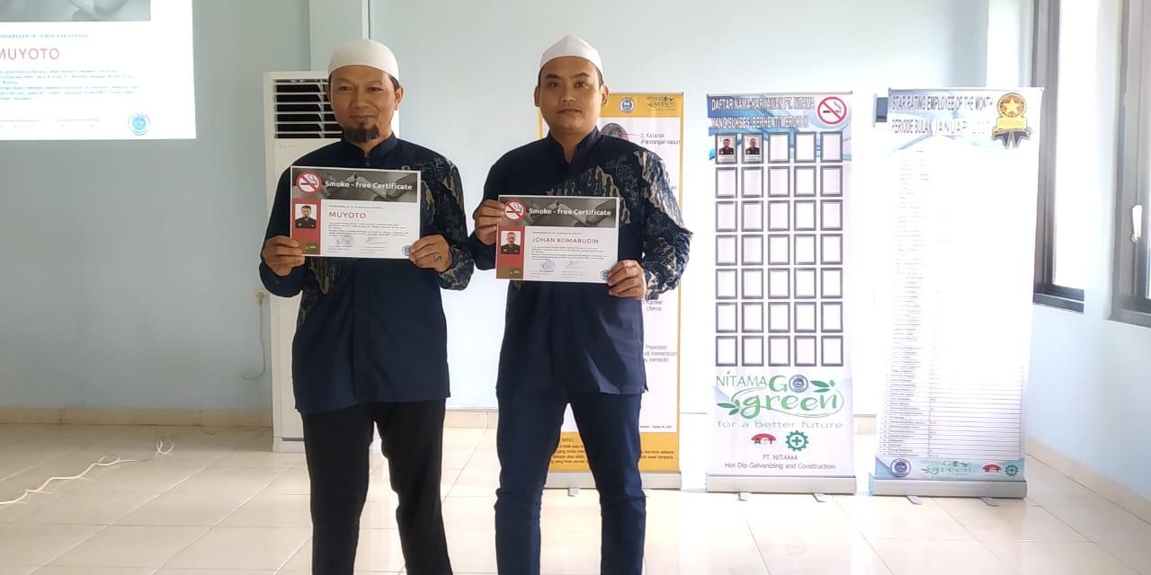 Karyawan Yang Sukses Berhenti Merokok di PT Nitama