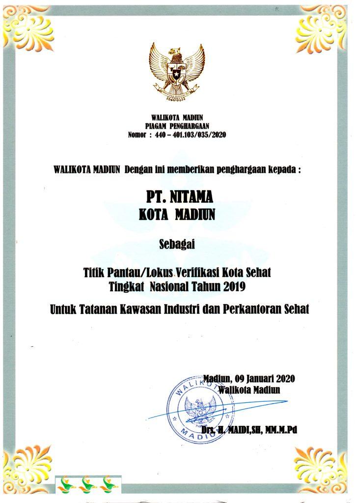 Penghargaan Walikota Madiun 2019