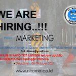 Recruitmen Karyawan PT Nitama posisi Marketing 2021